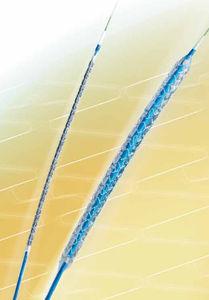 stent para artéria coronária / em cobalto-cromo