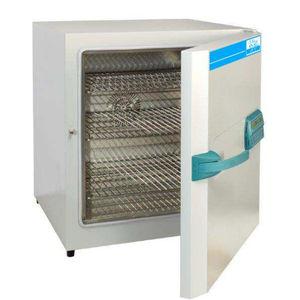 esterilizador de laboratório / de ar quente / de bancada / em aço inoxidável