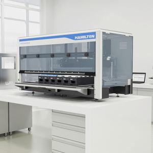 estação de trabalho de laboratório para o desenvolvimento de novos medicamentos