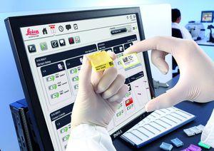sistema de gestão e localização de amostras / de informação / de dados / de laboratório