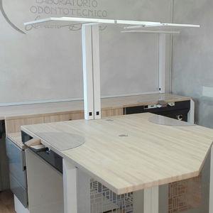 luminária para laboratório dentário / de LED / de mesa