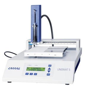 distribuidor de amostras semiautomático