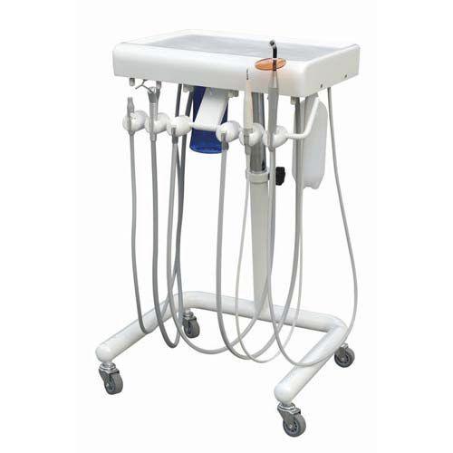 equipo para cadeira odontológica com rodízios