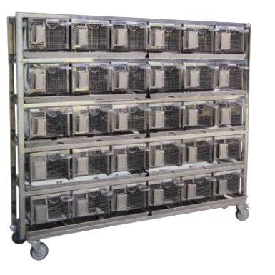 gaiola veterinária modular