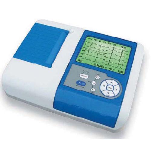 eletrocardiógrafo 6 canais