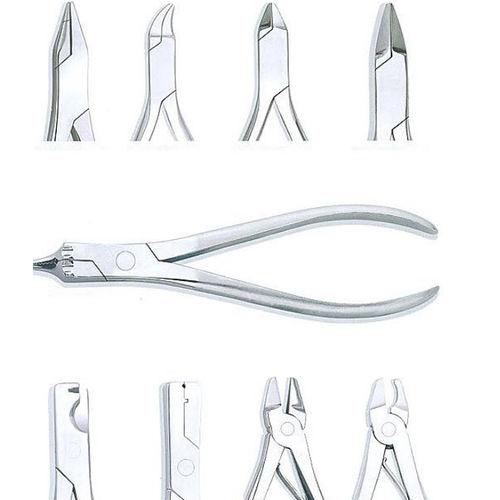 pinça para laboratório dentário