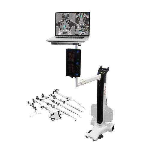 sistema de navegação cirúrgica para cirurgia de ORL