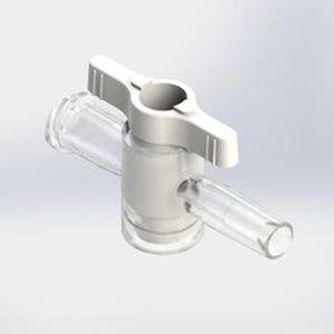 conector para infusão reto