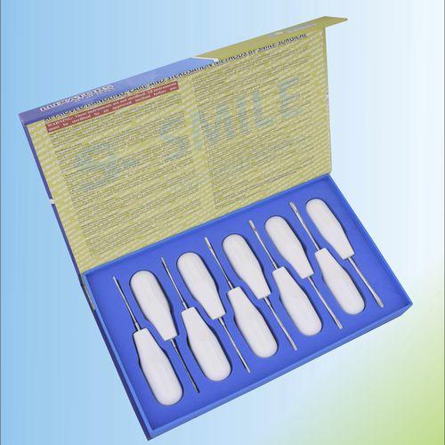kit de periótomos curvo