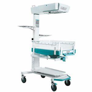 mesa de reanimação neonatal com rodízios / com altura regulável