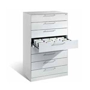 armário para registos médicos / para consultório médico / com gavetas