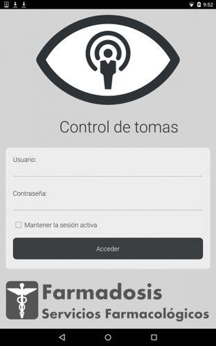 aplicativo para Android de controle