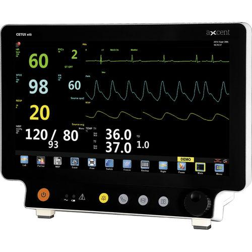 monitor de paciente para ECG