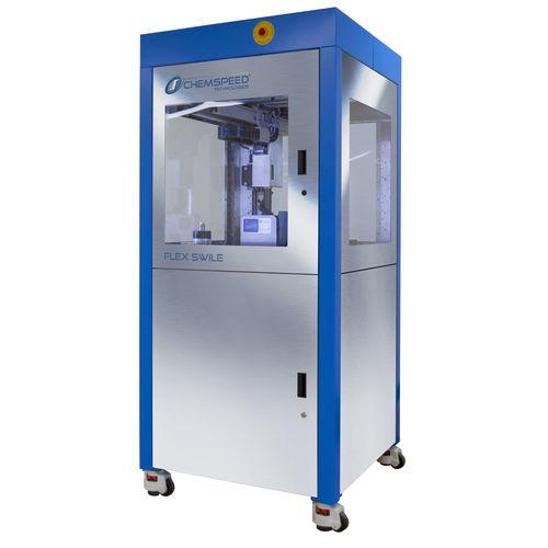 sistema automático de preparação de amostras robótico