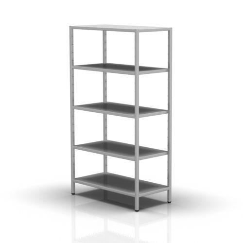 suporte de armazenamento em aço inoxidável