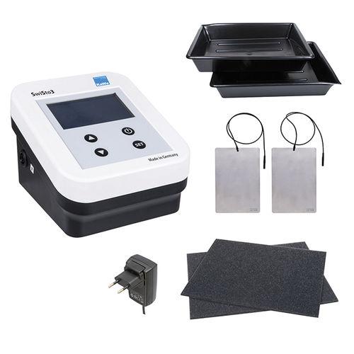 aparelho de iontoforese / de mesa / CD / 2 canais