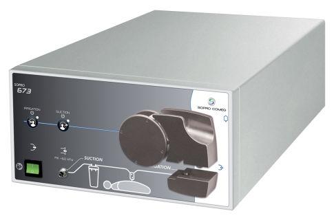 bomba de irrigação para laparoscopia