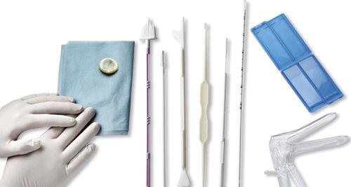 kit de instrumentos para cirurgia ginecológica