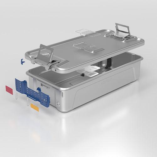 container de esterilização para instrumentos