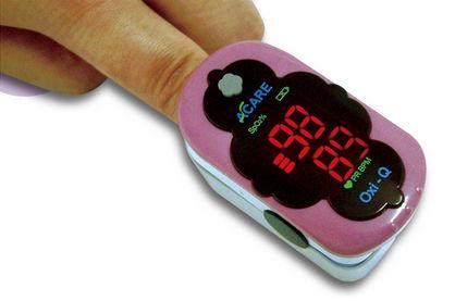 oxímetro de pulso para dedo