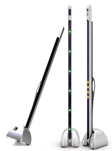 detector de metais para ressonância magnética móvel