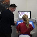 simulador de treinamento / para odontologia / sala de aula / háptico