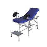 mesa para exame ginecológico / manual / Trendelenburg / com encosto regulável