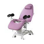 cadeira de exame para ginecologia / hidráulica / de altura regulável / com encosto regulável