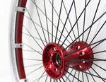 roda para cadeira de rodas / em alumínio