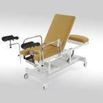 mesa para exame ginecológico / elétrica / de altura regulável / com rodízios