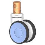 roda em poliuretano