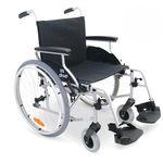 cadeira de rodas passiva / para ambientes externos / para ambientes internos / de altura regulável