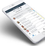 aplicativo para iOS de gestão de consultas / de visualização / para oncologia