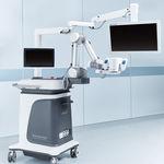 robô cirúrgico porta-microscópio