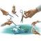 kit de instrumentos para cirurgia geral